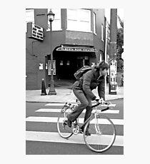 Alberta Rose Theater and Bike Photographic Print