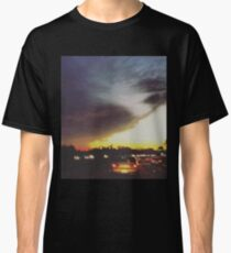 The Sunset on a Freeway Classic T-Shirt