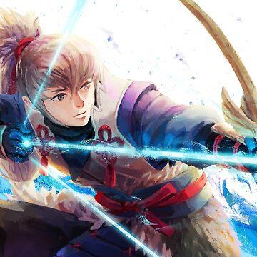 Fire Emblem Fates: Takumi by ravefirell