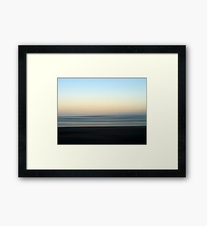 To Breathe Framed Print