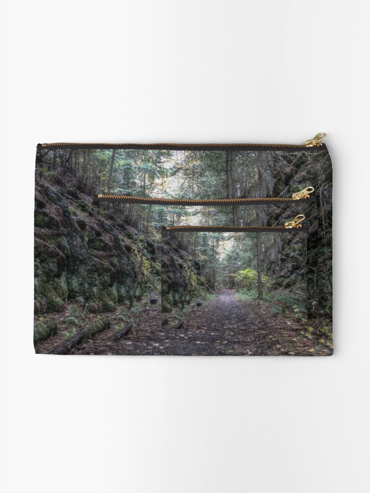 Alternate view of Dark passage Zipper Pouch