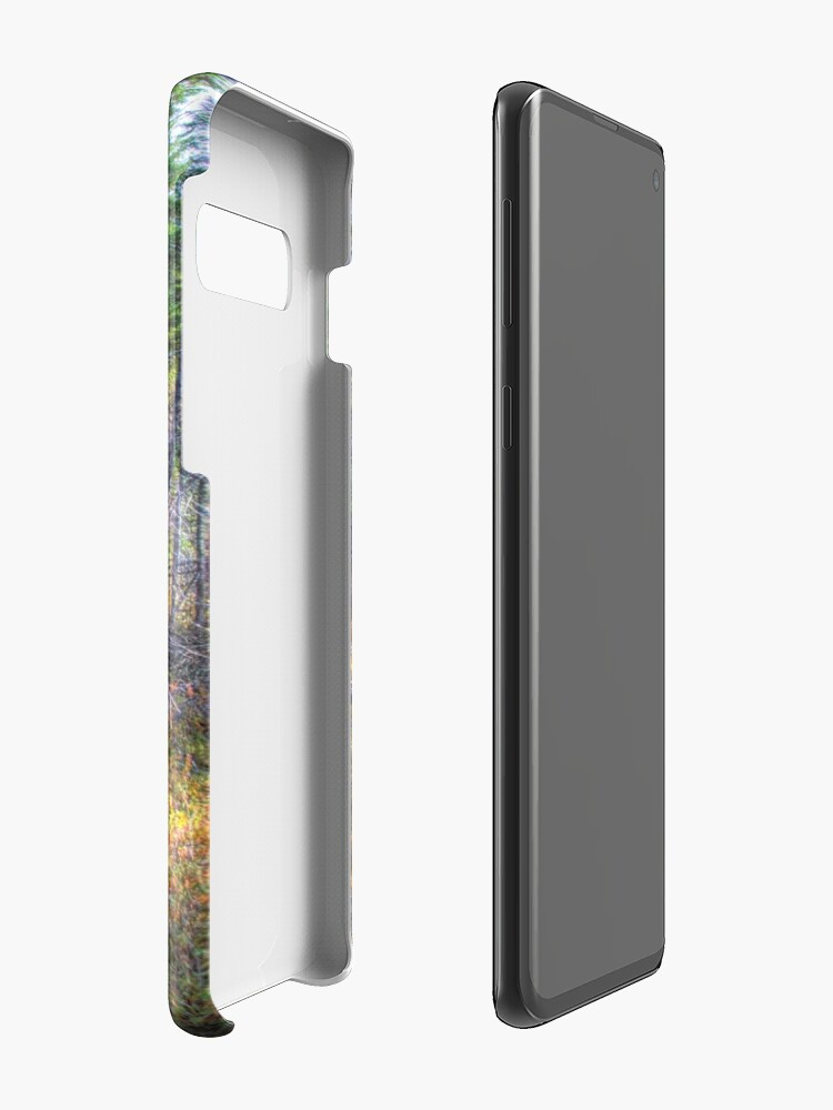 Alternate view of Pine trees in the marsh Case & Skin for Samsung Galaxy