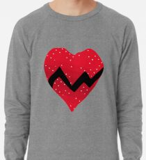 Kanye West 808s Heartbreaks Heart Lightweight Sweatshirt