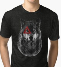 Wolf. Tri-blend T-Shirt