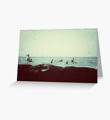 coastal vibes Greeting Card