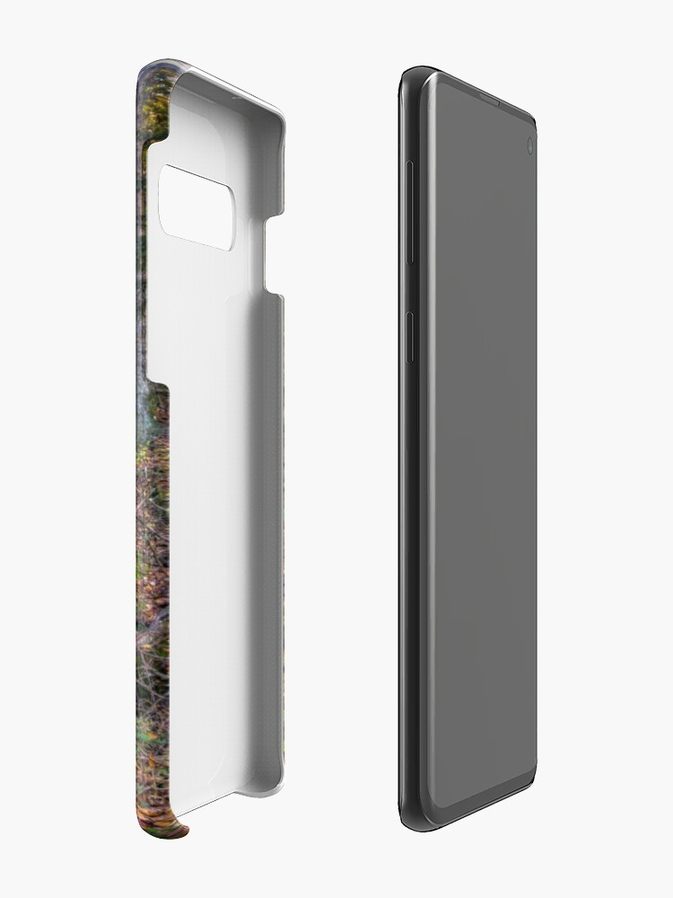 Alternate view of Walkway through the woods Case & Skin for Samsung Galaxy