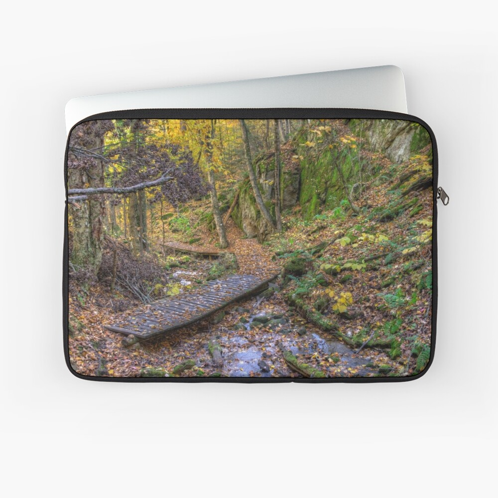 Forest walkway Laptop Sleeve