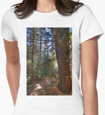 Big pine Fitted T-Shirt