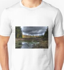 Stormy marsh Slim Fit T-Shirt