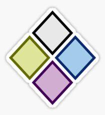 Steven Universe Diamond Authority Sticker Sticker