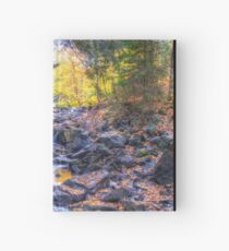 Rocky riverbed Hardcover Journal