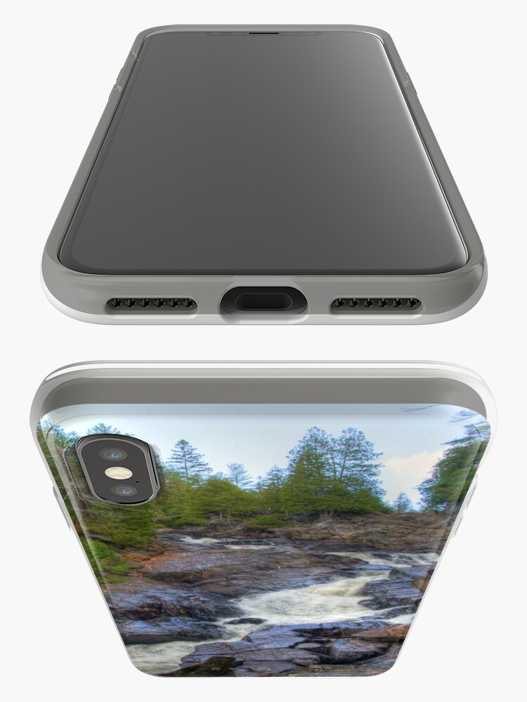 Alternate view of Raging water iPhone Case & Cover