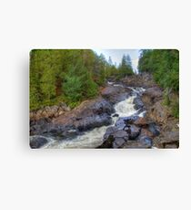 Raging water Canvas Print