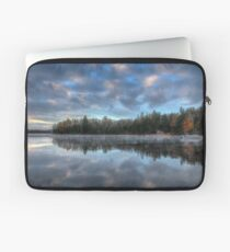 Reflected trees and sky Laptop Sleeve