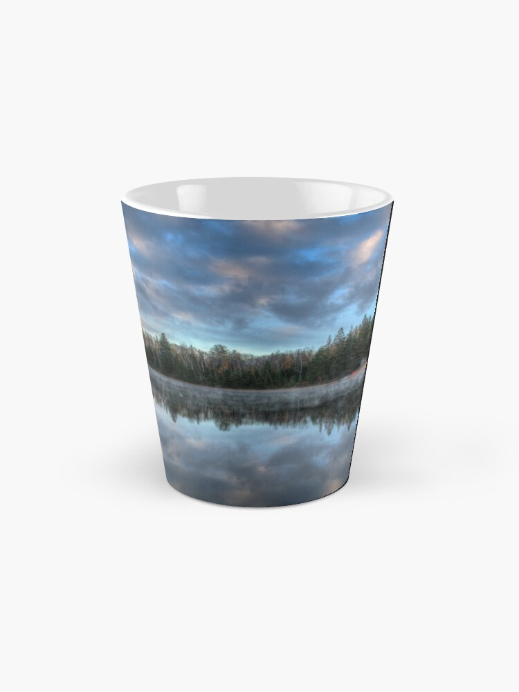 Alternate view of Reflected trees and sky Mug