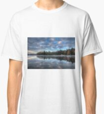 Reflected trees and sky Classic T-Shirt