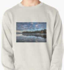 Reflected trees and sky Pullover Sweatshirt