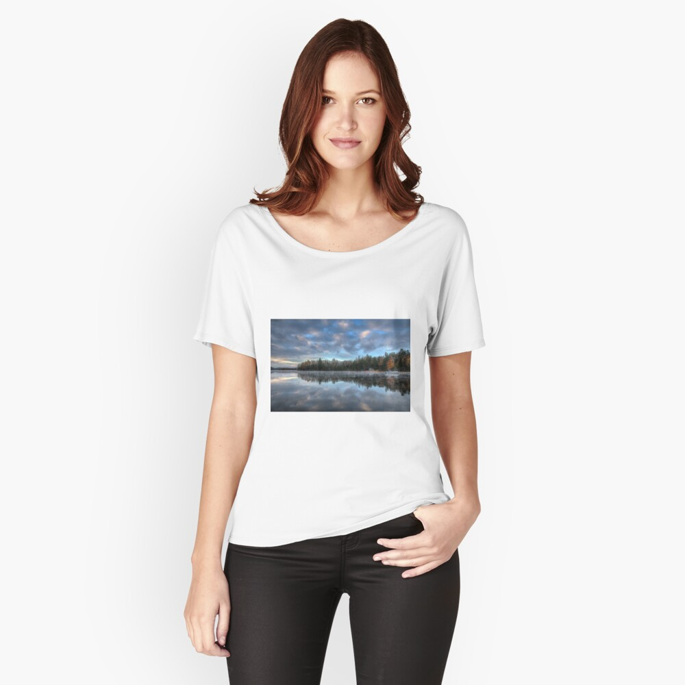 Reflected trees and sky Relaxed Fit T-Shirt
