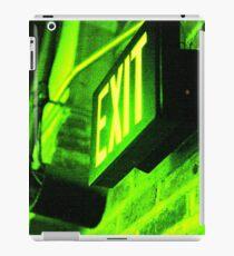 Exit iPad Case/Skin