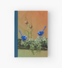 Blue Wrens & Winter Orchids Western Australia Hardcover Journal