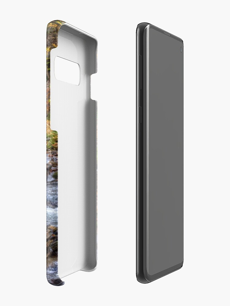 Alternate view of Forest waterfall Case & Skin for Samsung Galaxy
