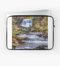 Forest waterfall Laptop Sleeve