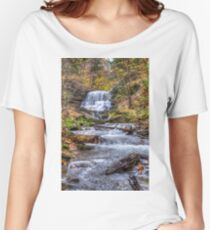 Forest waterfall Relaxed Fit T-Shirt