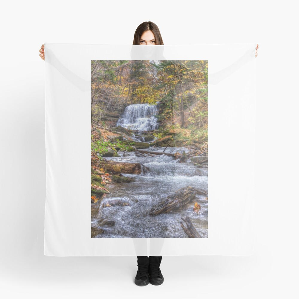Forest waterfall Scarf