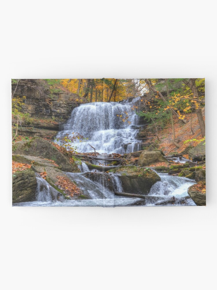 Alternate view of Forest waterfall Hardcover Journal