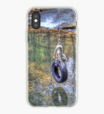 Tire swing iPhone Case