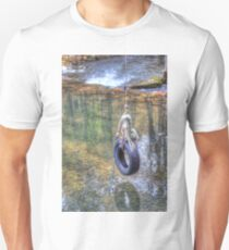Tire swing Slim Fit T-Shirt