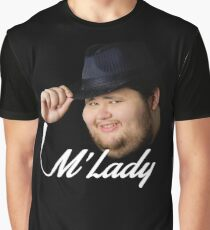 M'Lady Graphic T-Shirt