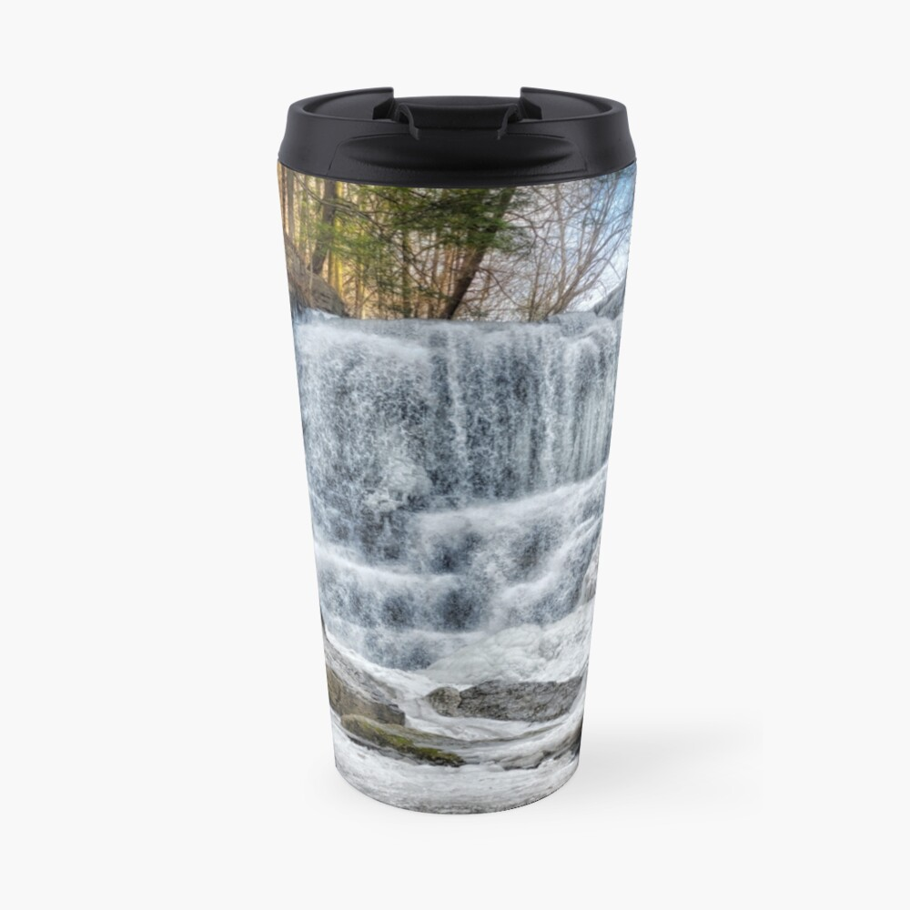 Melting waterfall Travel Mug