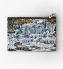 Melting waterfall Zipper Pouch