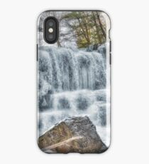 Melting waterfall iPhone Case
