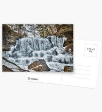 Melting waterfall Postcards