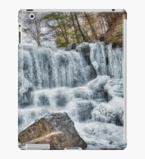 Melting waterfall iPad Case/Skin
