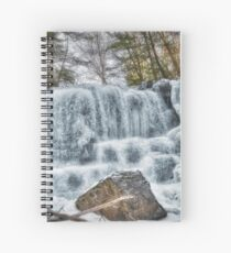 Melting waterfall Spiral Notebook