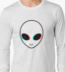 Trippy Alien Langarmshirt