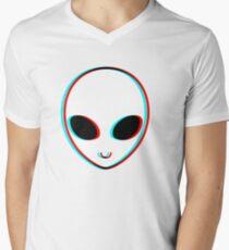 Trippy Alien Men's V-Neck T-Shirt