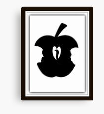 FORBIDDEN--TEMPTATION...ADAM & EVE--APPLE--SERPENT.-JOURNAL-.PICTURE-PILLOW-TOTE BAG-CELL PHONE COVERS ECT. Canvas Print