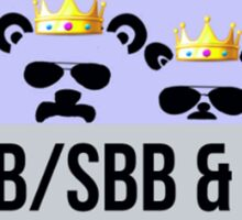RBB SBB Badge Sticker