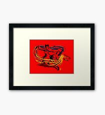Dragon Bender- Digital Art Framed Print