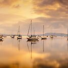 Koolewong Boats, New South Wales, Australia by Michael Boniwell