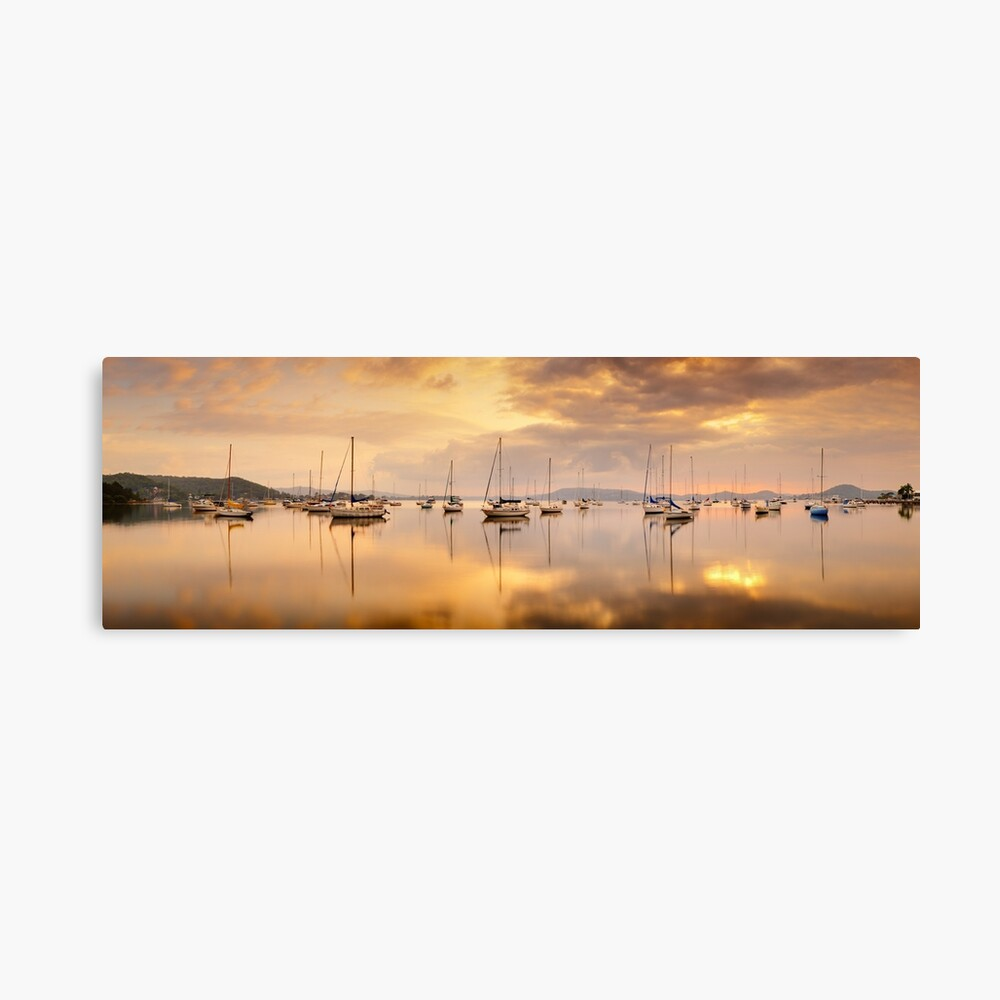 Koolewong Boats, New South Wales, Australia Canvas Print