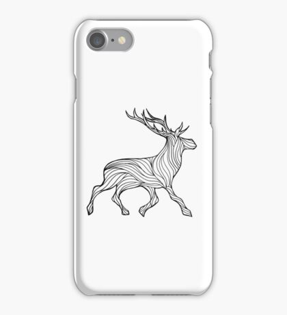 Stag Lines iPhone Case/Skin