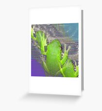 The Real Frogger Greeting Card