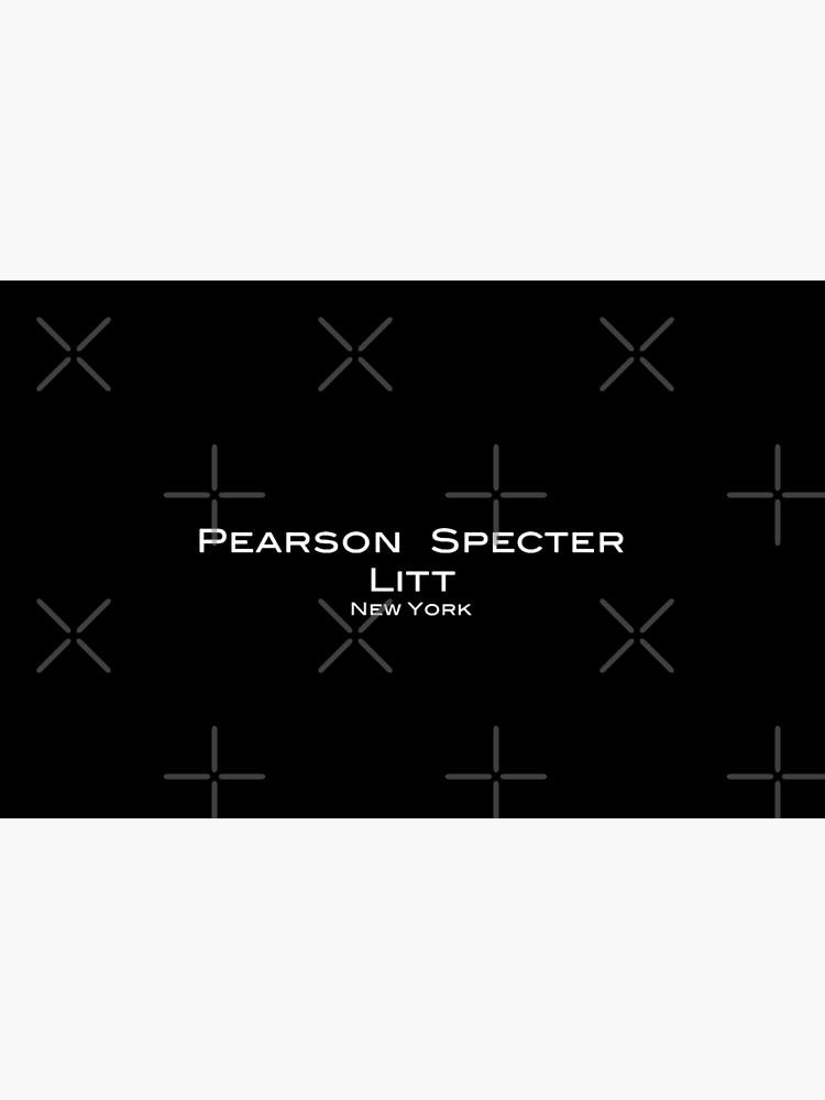 Suits Pearson Specter Litt Logo by olivergraham