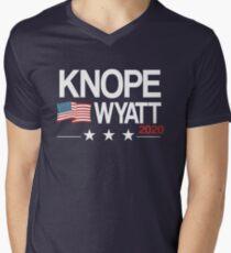 Camiseta de cuello en V Knope 2020