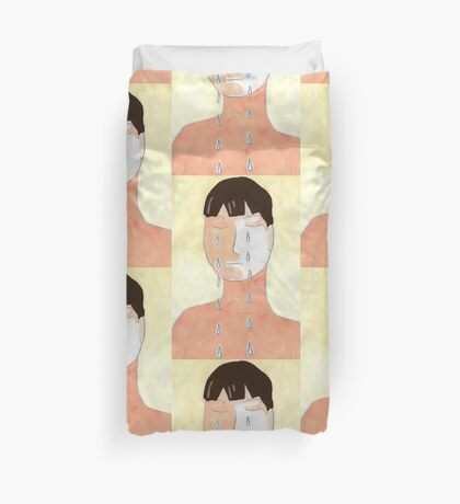 Crying Duvet Cover